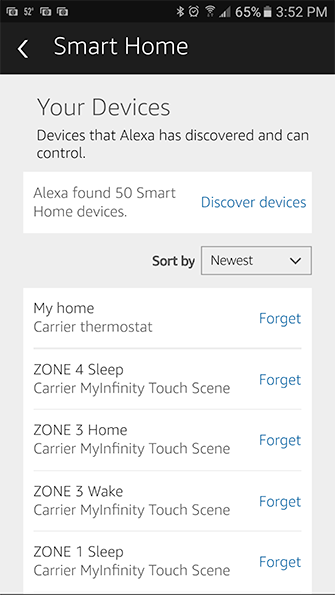 Alexa Smart Home Devices